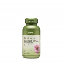 GNC Herbal Plus® Echinacea Extract 500 mg, Extract de Echinaceea, 100 cps
