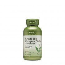 GNC Herbal Plus® Green Tea Complex 500 mg, Complex de Ceai Verde, 100 cps
