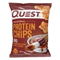 Quest Nutrition Protein Chips, Chipsuri Proteice, cu Aroma de Barbeque, 32 g