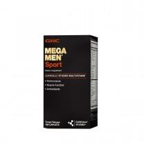 GNC Mega Men® Sport, Complex de Multivitamine pentru Barbati, 180 tb