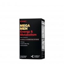 GNC Mega Men® Energy & Metabolism, Complex de Multivitamine Pentru Barbati, Energie si Metabolism, 90 tb