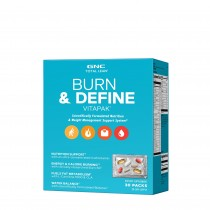 GNC TOTAL LEAN® BURN & DEFINE VITAPAK®, Program Complet de Slabit, 30 pachete