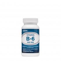 GNC Vitamina B-6 100, 100 tb