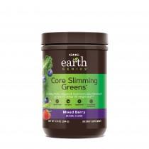 GNC Earth Genius™ Core Slimming Greens™, Complex Vegetal Pentru Controlul Greutatii, cu Aroma de Fructe de Padure, 364 g