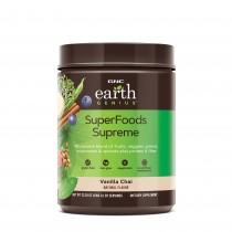 GNC Earth Genius™ SuperFoods Supreme, Amestec Vegetal Pentru Sustinerea Musculaturii, Aroma de Vanilie, 660 g