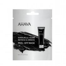 Ahava Single Use Dunaliella Peel Off Mask, Masca Exfolianta din Alge de la Marea Moarta, 8 ml