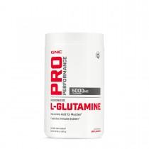 GNC Pro Performance® L-Glutamine, L-Glutamina 5000 mg, Fara Aroma, 300 g