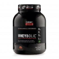 GNC AMP Wheybolic™ Proteina din Zer, cu Aroma Naturala de Ciocolata, 1625 g