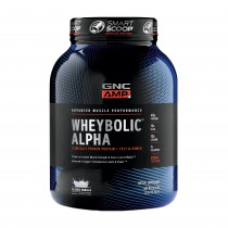 GNC AMP Wheybolic™ Alpha, Proteina din Zer, cu Aroma de Crema cu Capsuni, 1463 g