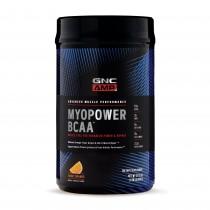 GNC AMP Myopower BCAA™, Formula Pentru Energie si Cresterea Performantei, cu Aroma de Portocale, 900 g