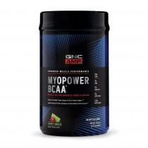 GNC AMP Myopower BCAA™, Formula Pentru Energie si Cresterea Performantei, cu Aroma de Cirese si Lime, 940 g