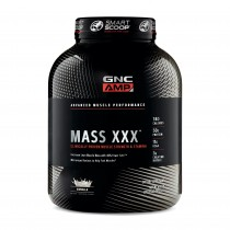 GNC AMP Mass XXX™, Proteina din zer, cu Aroma de Vanilie, 2812.27 g