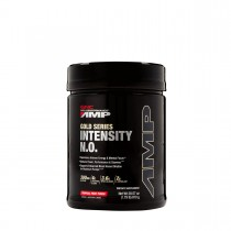 GNC AMP Gold Series Intensity NO, Formula Pre-Workout , cu Aroma de Punch de Fructe Tropicale, 810 g