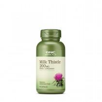 GNC Herbal Plus® Milk Thistle 200 mg, Silimarina, 90 cps