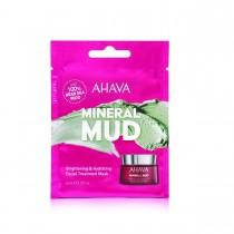 Ahava Single Use Brightening & Hydrating Facial Treatment Mask, Masca cu Namol Pentru Albirea si Hidratarea Tenului, 8 ml