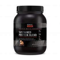 GNC AMP Sustained Protein Blend Amestec Proteic cu Aroma de Cereale cu Scortisoara, 924 g