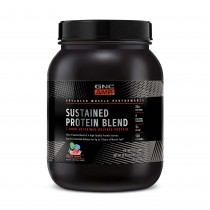 GNC AMP Sustained Protein Blend Amestec Proteic cu Aroma de Cereale Fructate, 910 g