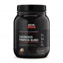GNC AMP Sustained Protein Blend, Amestec Proteic, cu Aroma de Milkshake de Ciocolata, 980 g