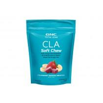 GNC Total Lean® CLA Soft Chew, CLA Caramele, cu Aroma de Capsuni si Banane