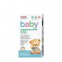 GNC milestones® baby™ Vegetarian DHA Drops, Picaturi cu DHA Vegetal Pentru Bebelusi, 32 ml