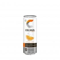 Celsius® Bautura Energizanta Carbogazoasa, cu Aroma de Portocala, 355 ml