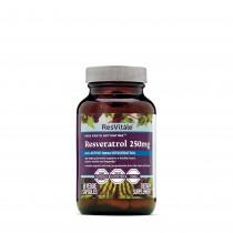 ResVitále™ Resveratrol 250mg, Quercetina 100 mg, 60 cps
