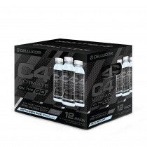 Cellucor® C4 Ultimate On The Go, Bautura Energizanta, cu Aroma de Arctic Snow Cone, 345 ml