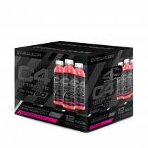 Cellucor® C4 Ultimate On The Go, Bautura Energizanta, cu Aroma de Pepene Rosu, 345 ml