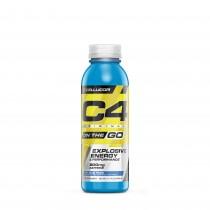 Cellucor® C4® Original On The Go, Formula Pre-Workout, cu Aroma Ice Blue Razz, 346 ml