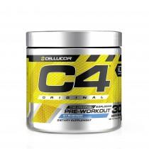 Cellucor® C4® Original, Formula Pre-Workout, cu Aroma de Zmeura Albastra, 390 g
