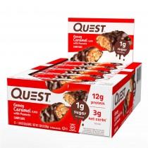 Quest® Candy Bar cu Aroma de Gooey Caramel cu Alune, 52 g