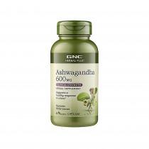 GNC Herbal Plus® Ashwagandha 600 mg, 60 cps
