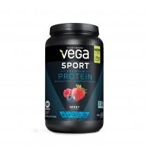 Vega™ Sport Premium Protein, Proteina Vegetala, cu Aroma de Fructe de Padure, 801 g