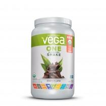 Vega® One All-In-One Nutritional Shake, Proteina Vegetala, cu Aroma de Ciocolata, 708 g