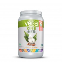 Vega® One All-In-One Nutritional Shake, Proteina Vegetala, cu Aroma de Cocos si Migdale, 687 g
