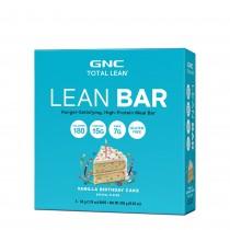 GNC Total Lean® Lean Bar, Baton Proteic, cu Aroma de Tort de Vanilie, 50g