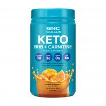 GNC Total Lean® KETO BHB + Carnitine, BHB si Carnitina, cu Aroma de Portocale si Mango, 390 g