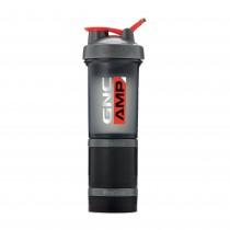 GNC AMP Prostak Shaker Cup, Shaker cu 3 Compartimente, 475 ml