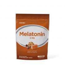 GNC Melatonin 3 mg, Melatonina, 60 Caramele