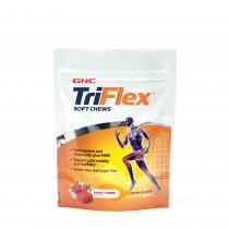 GNC TriFlex™ Soft Chews, cu Aroma de Fructe de Padure, 60 Caramele