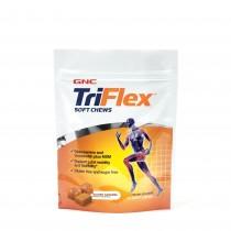 GNC TriFlex™ Soft Chews, cu Aroma de Caramel Sarat, 60 caramele