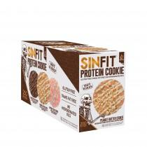 Sinister Labs SIN FIT® Protein Cookie, Biscuite Proteic, cu Aroma de Unt de Arahide, 78 g