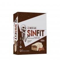 Sinister Labs Sin Fit® Protein Bar, Baton Proteic, cu Aroma de Scortisoara, 83g