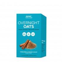 GNC Total Lean® Overnight Oats -Ovaz cu Aroma de Scortisoara si Zahar Brun, 81 G