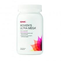 GNC Women's Ultra Mega® Multivitamin, Complex de multivitamine Pentru Femei, 90 tb