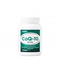 GNC CoQ-10 - 50 MG, Coenzima CoQ-10, 120 cps