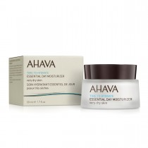 Ahava Essential Day Moisturizer - Very Dry Skin, Crema Hidratanta de Zi Pentru Ten Foarte Uscat, 50 ml
