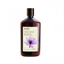 Ahava Mineral Botanic Cream Wash Lotus, Crema de Dus cu Lotus si Castan, 500ml