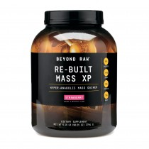 Beyond Raw® Re-Built Mass XP, Proteina din Zer, cu Aroma de Capsuni, 2794 g