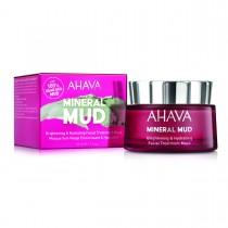 Ahava Brightening & Hydrating Facial Treatment Mask, Masca cu Namol Pentru Albirea si Hidratarea Tenului, 50ml